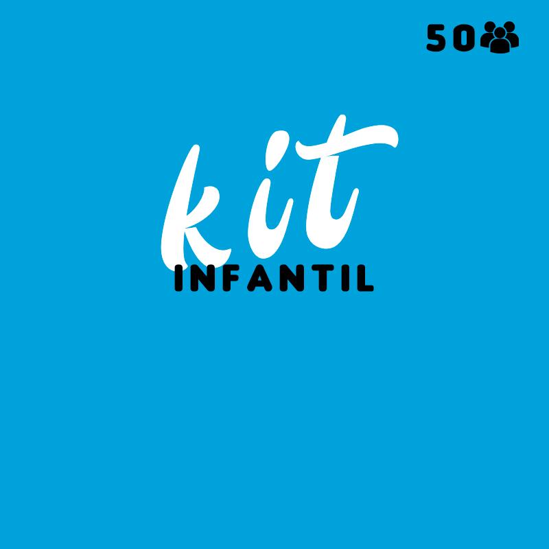 Kit de Festa Infantil para 50 Pessoas Melhor Preço Parque Santa Madalena - Kit Personalizado para Festa Infantil