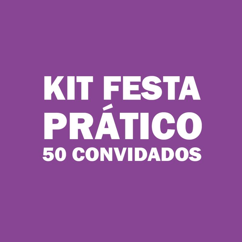 Kit de Festas Infantis para 50 Pessoas Jd da Conquista - Kit Festa Infantil