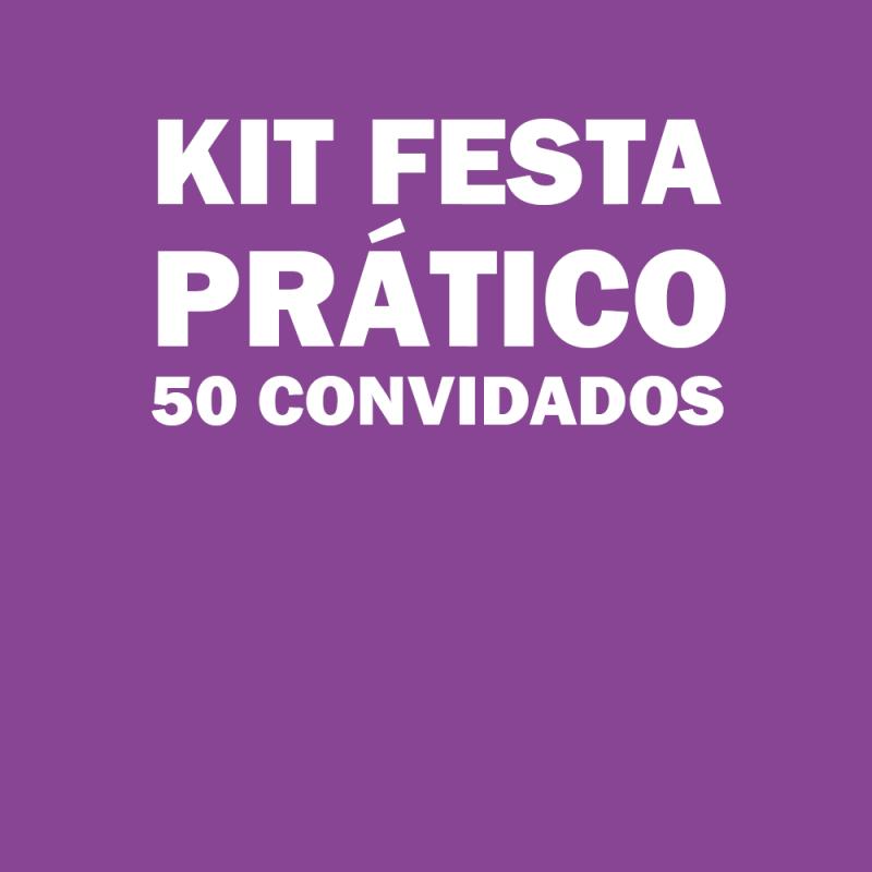 Kit Festa Infantil para 50 Pessoas Melhor Preço Ferraz de Vasconcelos - Kit Festa Infantil