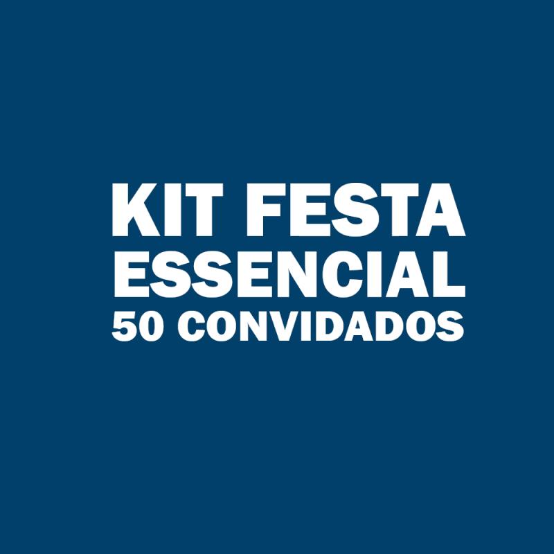 Kit Festa Infantil para 50 Pessoas Anália Franco - Kit Festa Infantil Bolo Doces e Salgados