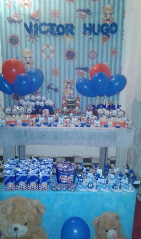 Kit Festas Infantis Personalizado Ponte Rasa - Kit Personalizado para Festa Infantil