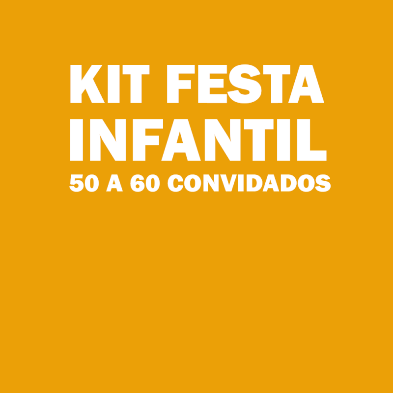 Onde Tem Kit Festa Aniversário Infantil Vila Formosa - Kit Festa Infantil para 50 Pessoas