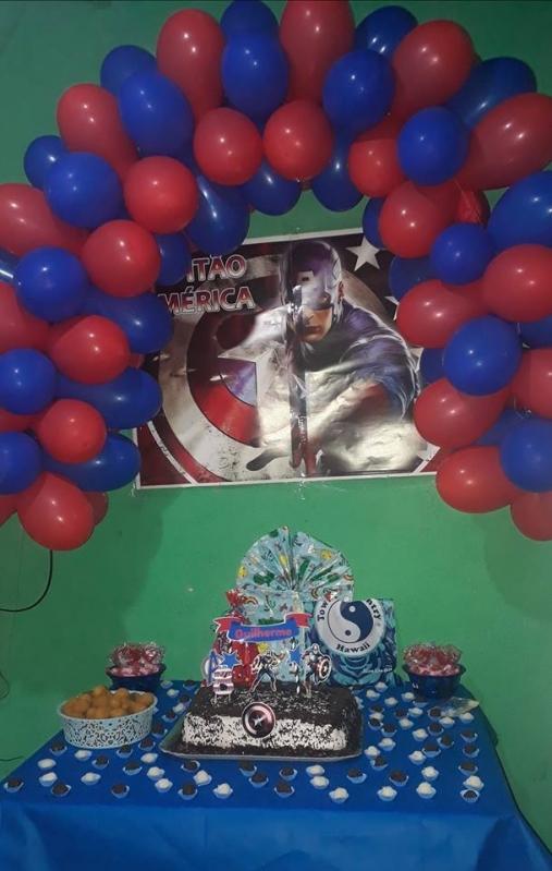 Onde Tem Kit Festa Infantil Personalizado Ermelino Matarazzo - Kit Festa Infantil Bolo Doces e Salgados