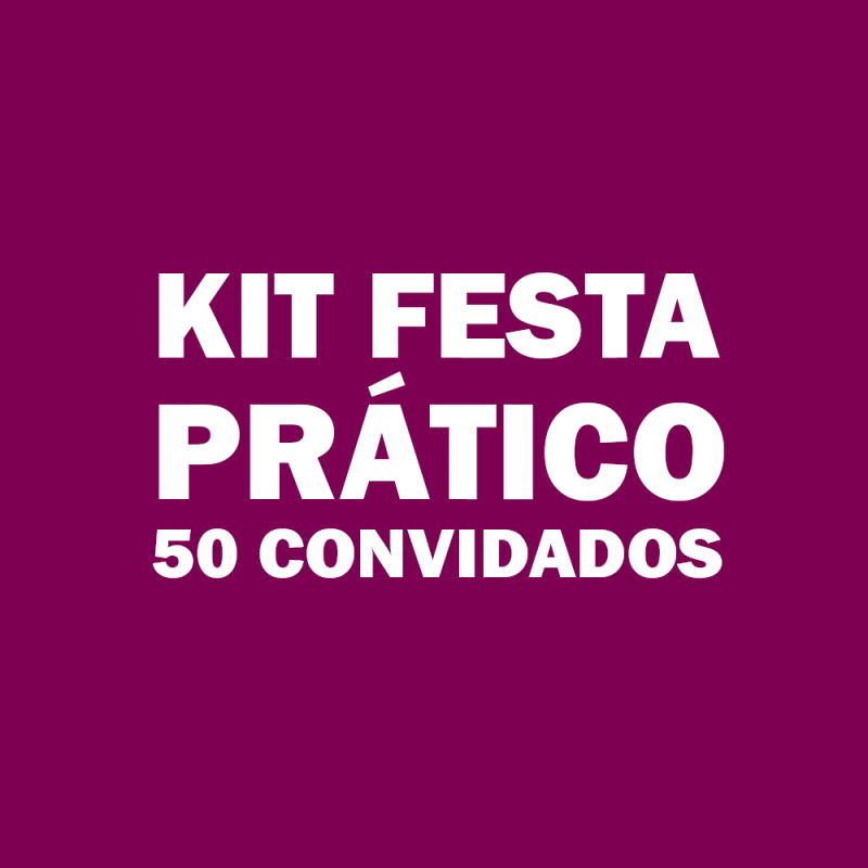 Onde Vende Kit de Festa Infantil para 50 Pessoas Penha de França - Kit Festa Infantil Bolo Doces e Salgados