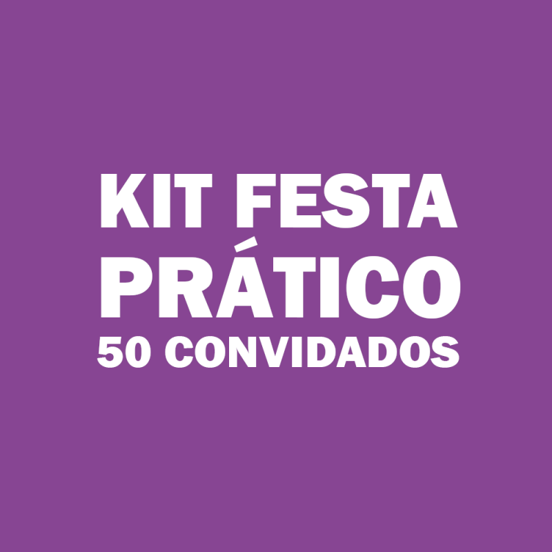 Onde Vende Kit Festa Infantil para 50 Pessoas Alto da Mooca - Kit de Festa Infantil