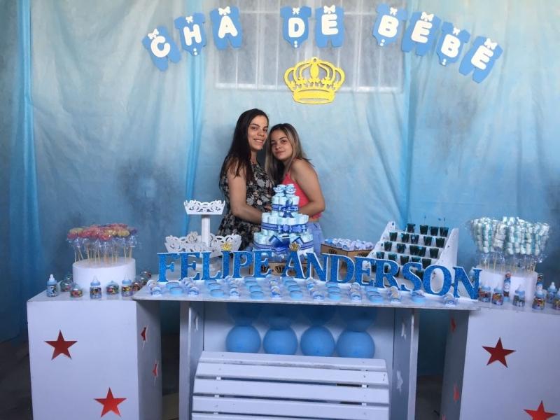 Onde Vende Kit Festa Infantil Personalizado Cidade Tiradentes - Kit Festa Infantil Bolo Doces e Salgados