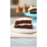 bolo de chocolate para festas infantis Santo André