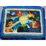 bolo decorado para festas infantis Pirambóia
