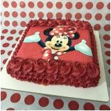 bolo para festa infantil simples Vila Carrão