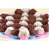 doces para festa infantil simples Vila Matilde
