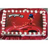 encomendar bolo simples para festa infantil Anália Franco