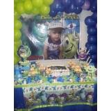 kit festa aniversário Jardim Casa Pintada