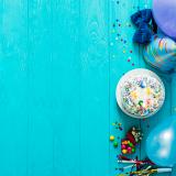 kit festa bolo salgados e doces barato Guaianazes