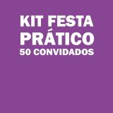 kit festa infantil para 50 pessoas melhor preço Alto da Mooca