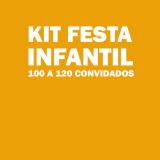 kit festa para 100 pessoas barato Jd da Conquista