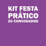kit festa para 20 pessoas barato Parque do Carmo