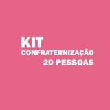 kit festa para 20 pessoas Ponte Rasa