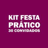 kit festa para 30 pessoas barato Vila Carrão