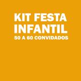 kit festa para 50 pessoas barato VILA VELIMA