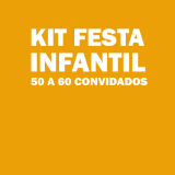 kit festa para 50 pessoas barato Mooca