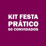 kit festas infantis para 50 pessoas Vila Dila