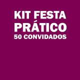 kit festas para 100 pessoas Ponte Rasa