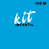 kit festa infantil para 100 pessoas