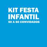 onde tem kit festa infantil para 50 pessoas Vila Carrão