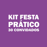 orçamento de kit festa para 30 pessoas VILA VELIMA