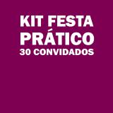 preços de kit festa para 30 pessoas Parque São Jorge